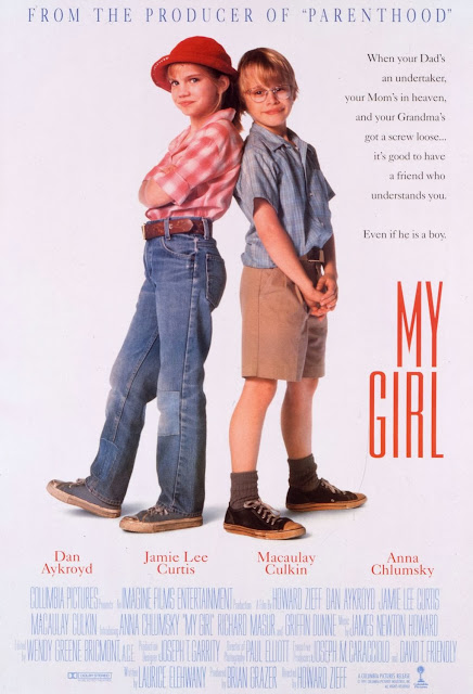 "Cartaz / Poster do filme ""Meu Primeiro Amor"" (My Girl) - 1991"