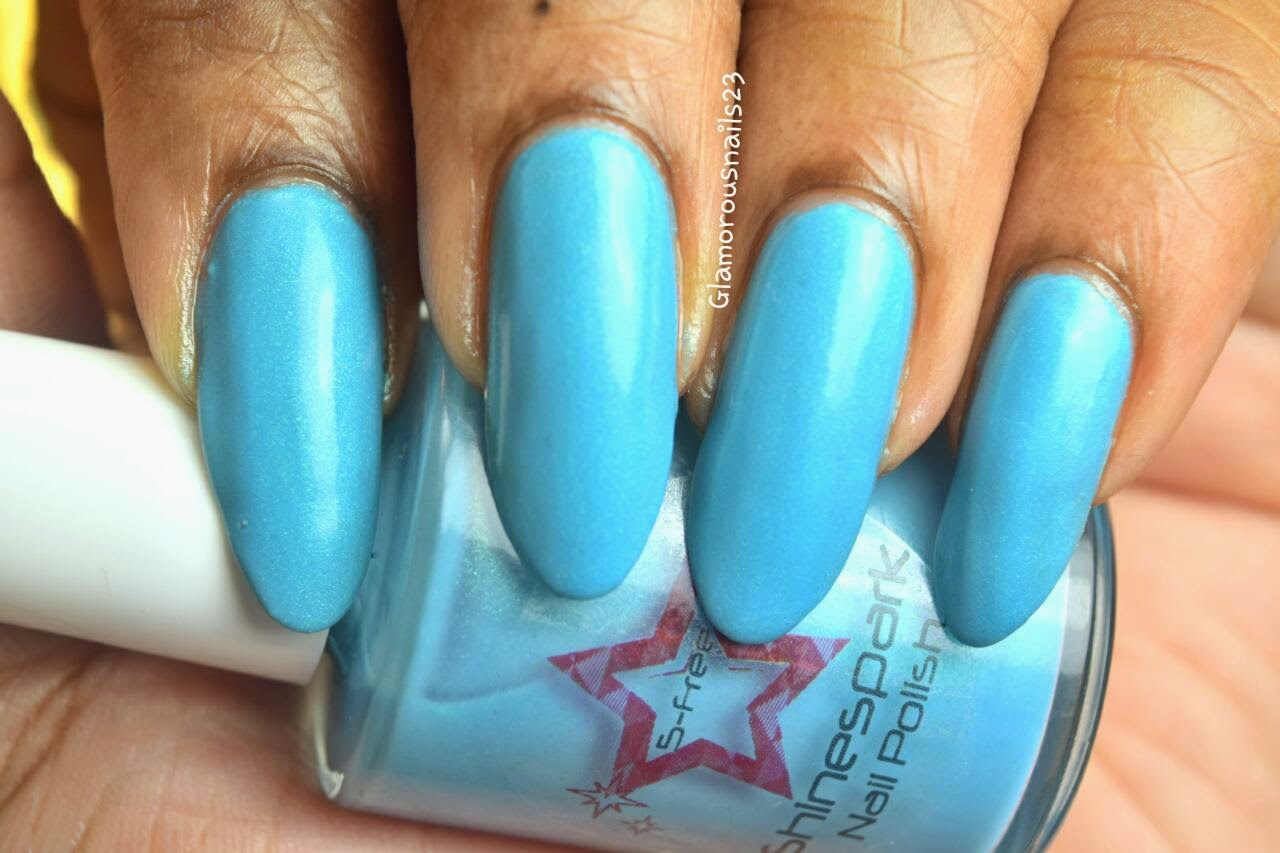 Shinespark Polish Ocean Swatch