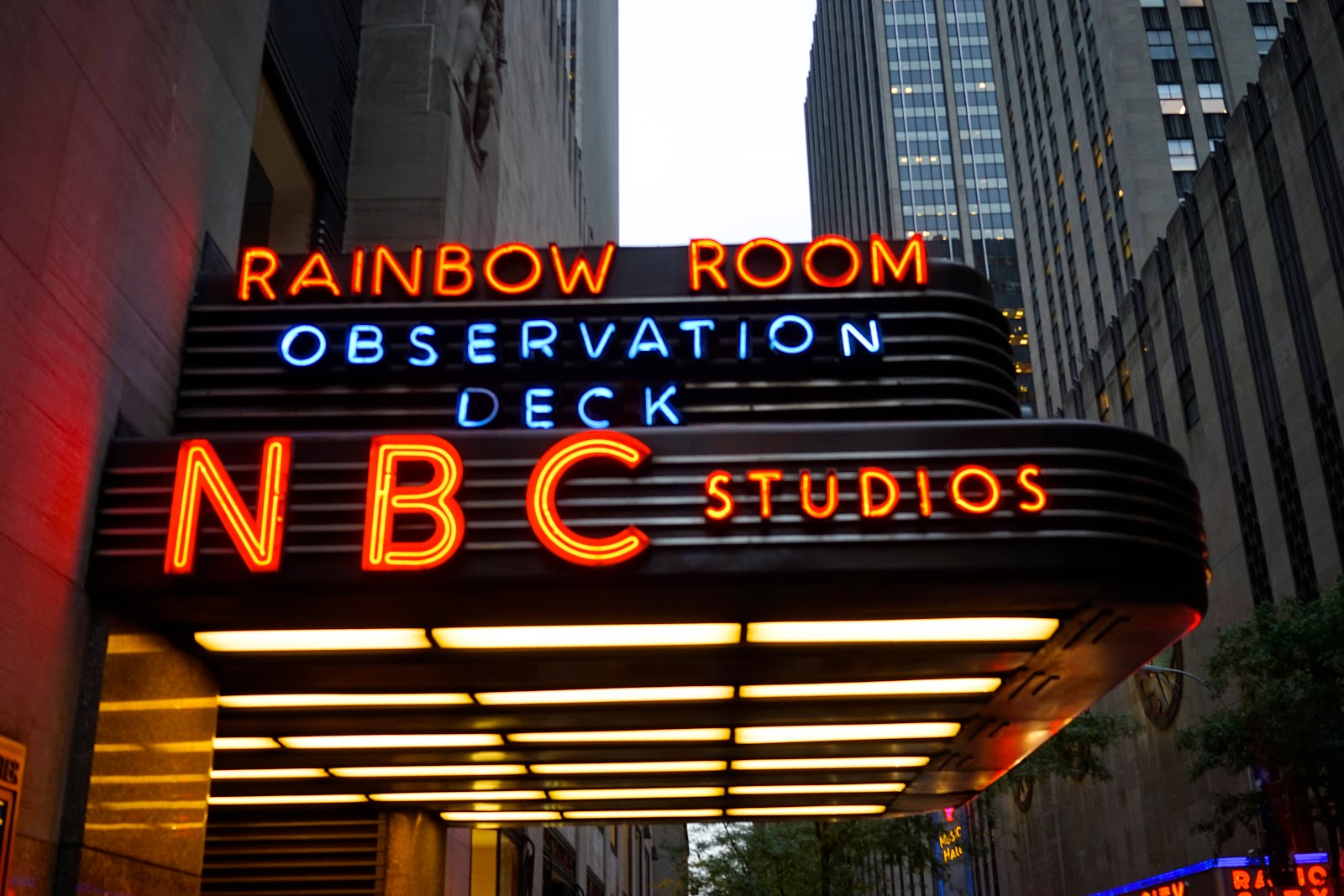 rainbow room observation deck