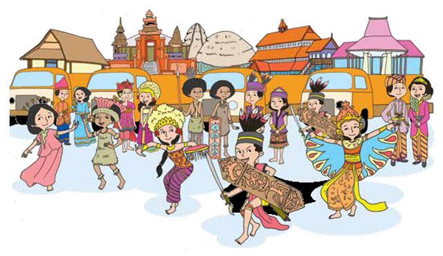 Bentuk Keragaman Suku Bangsa Dan Budaya Kumpulan Tugas Sekolah