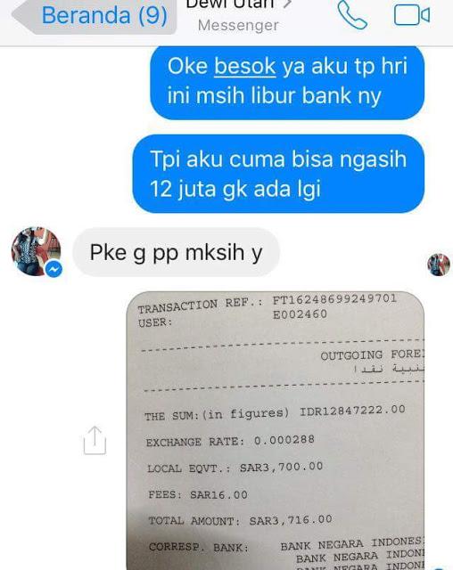 Baru Kenal di Facebook, TKI Saudi Transfer Uang 12 Juta ke Akun Abal-Abal, Setelah Itu..