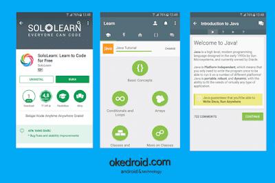SoloLearn Aplikasi Android