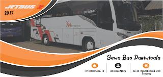 Tarif Harga Sewa Bus Pariwisata Bandung Terbaru