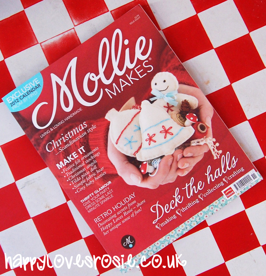 Mollie Makes Issue 8 and a Happy Giveaway – CLOSED