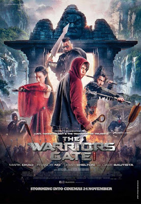 The Warrior's Gate 2016 DVD R1 NTSC Latino