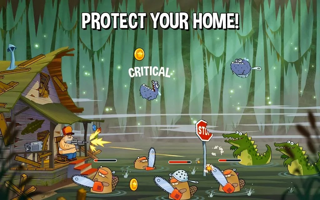 swamp Attack Android Game