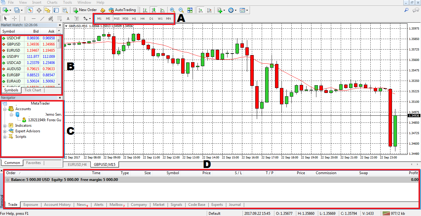 Forex training software