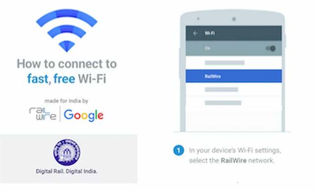 9 More Railways Stations get Free Wi-Fi Railtel & Google