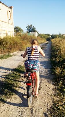 кататься на велосипеде - здорово!