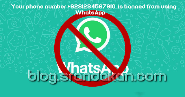 Mengatasi Whatsapp yang terblokir