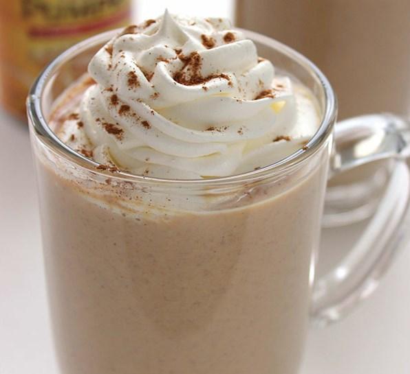 PUMPKIN WHITE HOT CHOCOLATE #HotDrink #Chocolate