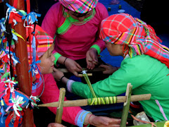 Giay tribus et groupes - Sapa - Vietnam