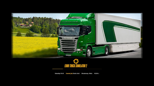 ets 2 new photo loading screens 4, scania