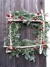 DIY Χριστουγεννιάτικη σύνθεση για ΕΞΩΤΕΡΙΚΟΥΣ ΧΩΡΟΥΣ