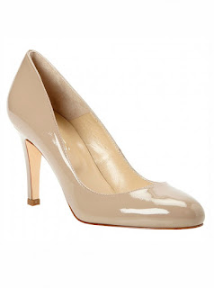 Ivory Shoes  Inch Heel
