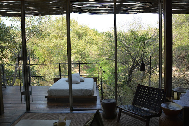 Singita Sweni South Africa hotel resort Kruger National Park bedroom