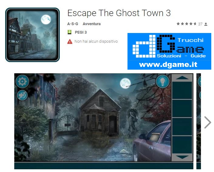 Soluzioni Escape The Ghost Town 3 di tutti i livelli | Walkthrough guide