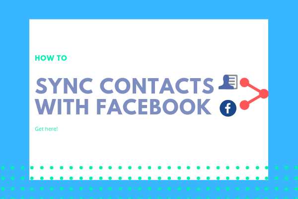 How To Link Facebook With Iphone Contacts<br/>