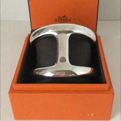 Hermes Osmose Cuff Bangle