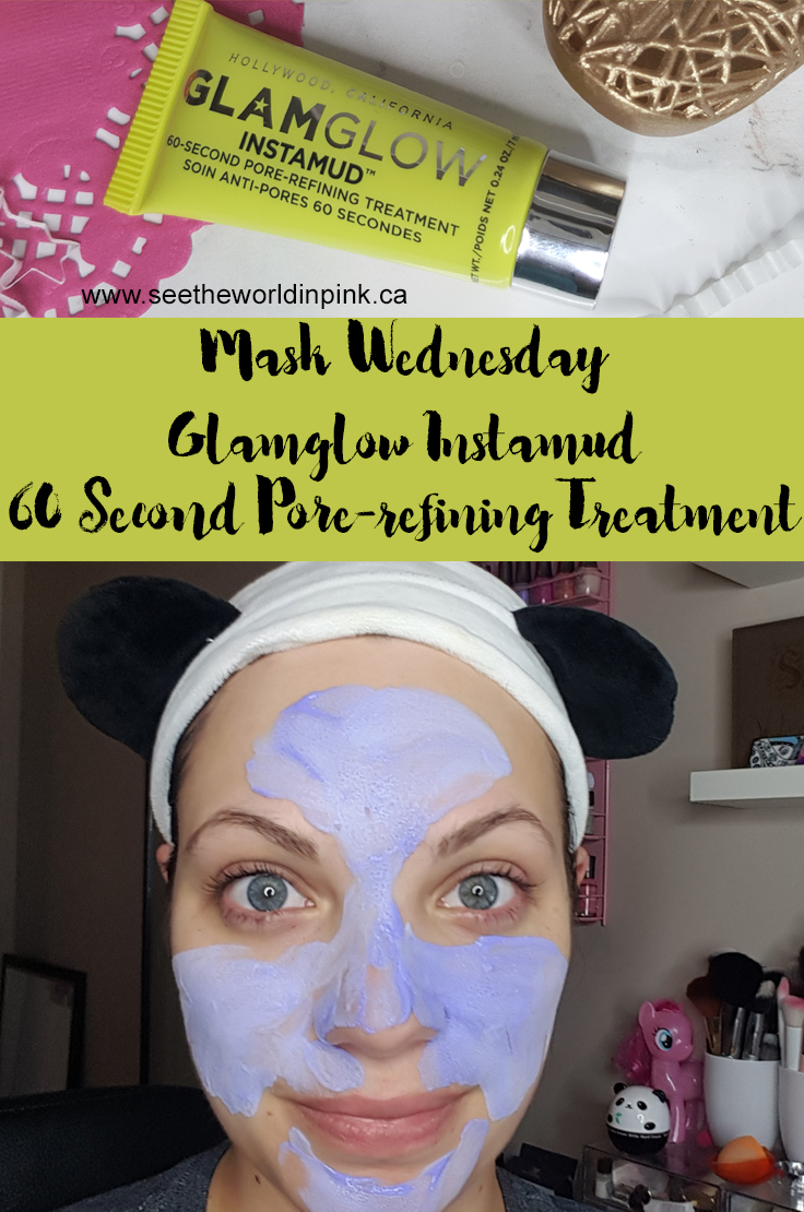 Mask Wednesday - Glamglow Instamud 60 Second Pore-Refining Treatment
