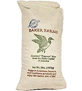 Popcorn Rice - Grown in Louisiana by Baker Farms