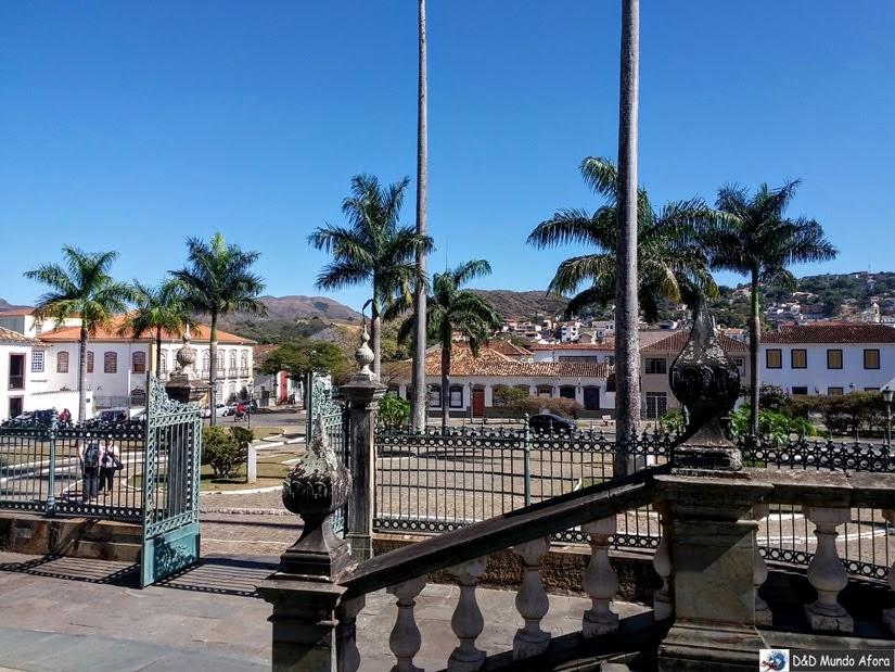 Praça Frei Orlando - O que fazer em São João del Rei - Minas Gerais