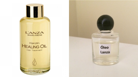 keratin healing oil lanza