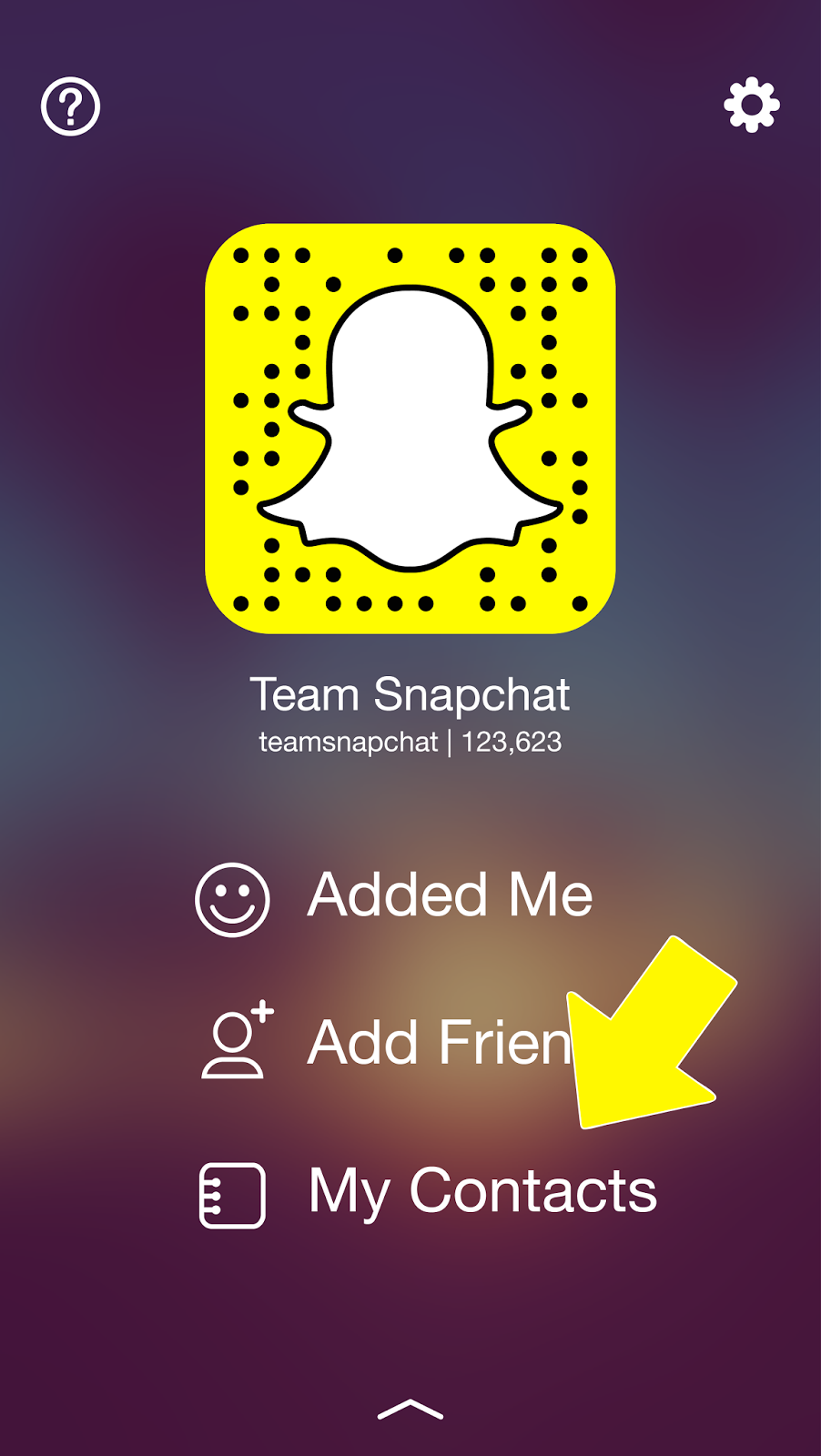 How To Search Snapchat Username And Add Friends On -1198