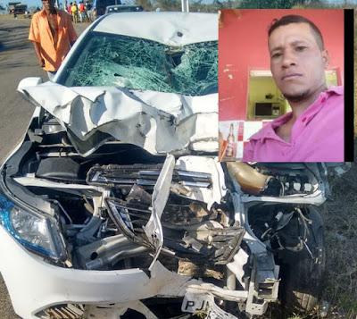 Acidente deixa vítima fatal na BA-130, em Ruy Barbosa