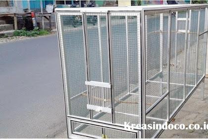 Jasa Pembuatan Kandang Burung Umbaran Bahan Aluminium