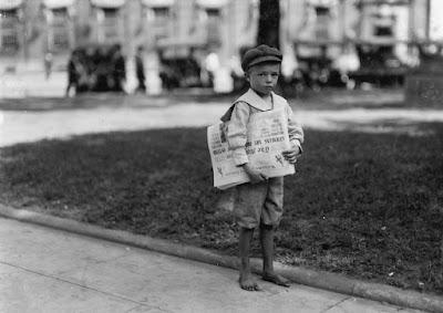 El trabajo infantil en América hace un siglo