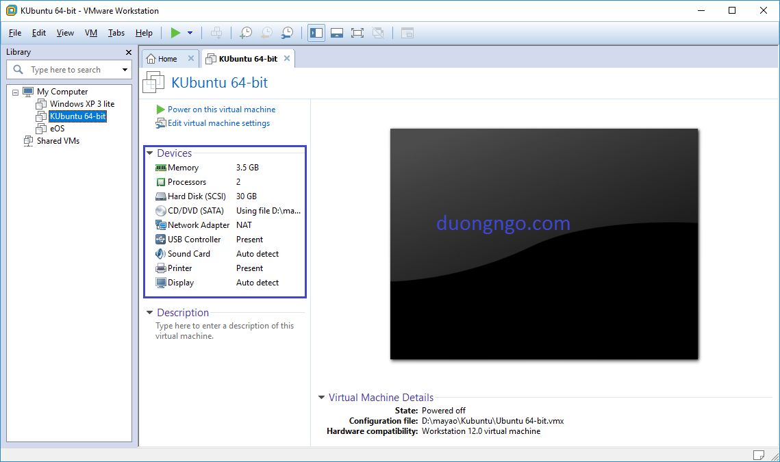 Install Kubuntu 16.04.1 LTS on VMWare download image