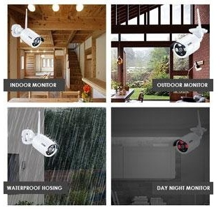 Best Home Security Systems 2020.Best Prohd Video Outdoor Home Security Cameras 2020 System