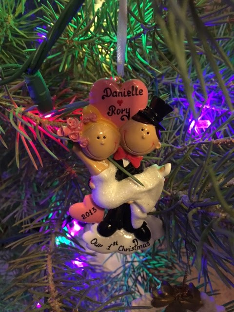 1st year married ornament