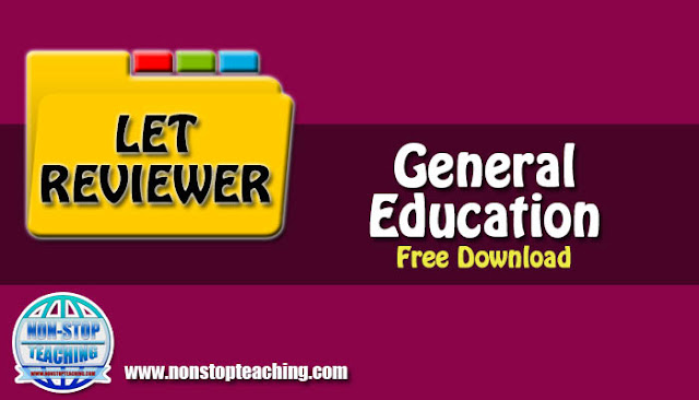 2019 General Education LET Reviewer