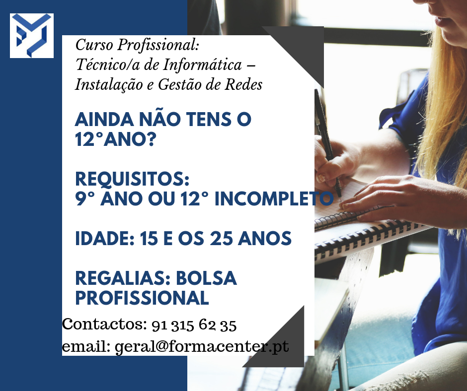 curso de técnico de informática no Porto