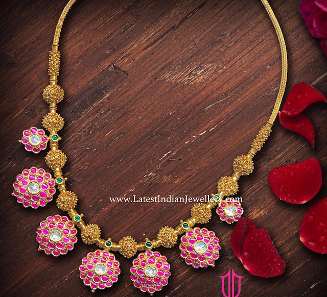 Ruby Bottu Necklace