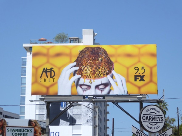 AHS Cult season 7 billboard