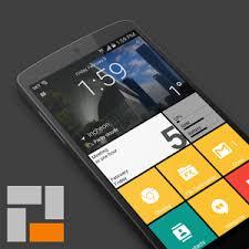 ဖုန္း Launcher ကို window ဒီဇိုင္းအတိုင္းအသံုးျပဳႏိုင္မယ့္ - SquareHome 2 Premium – Win 10 style v1.1.7 Apk