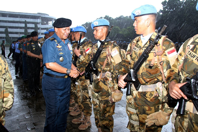 Panglima TNI : Tunjukkan Prajurit TNI Berkelas Dunia