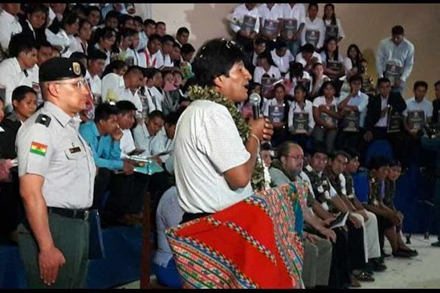 Morales acusa al Gobierno estadounidense de someter a otros países