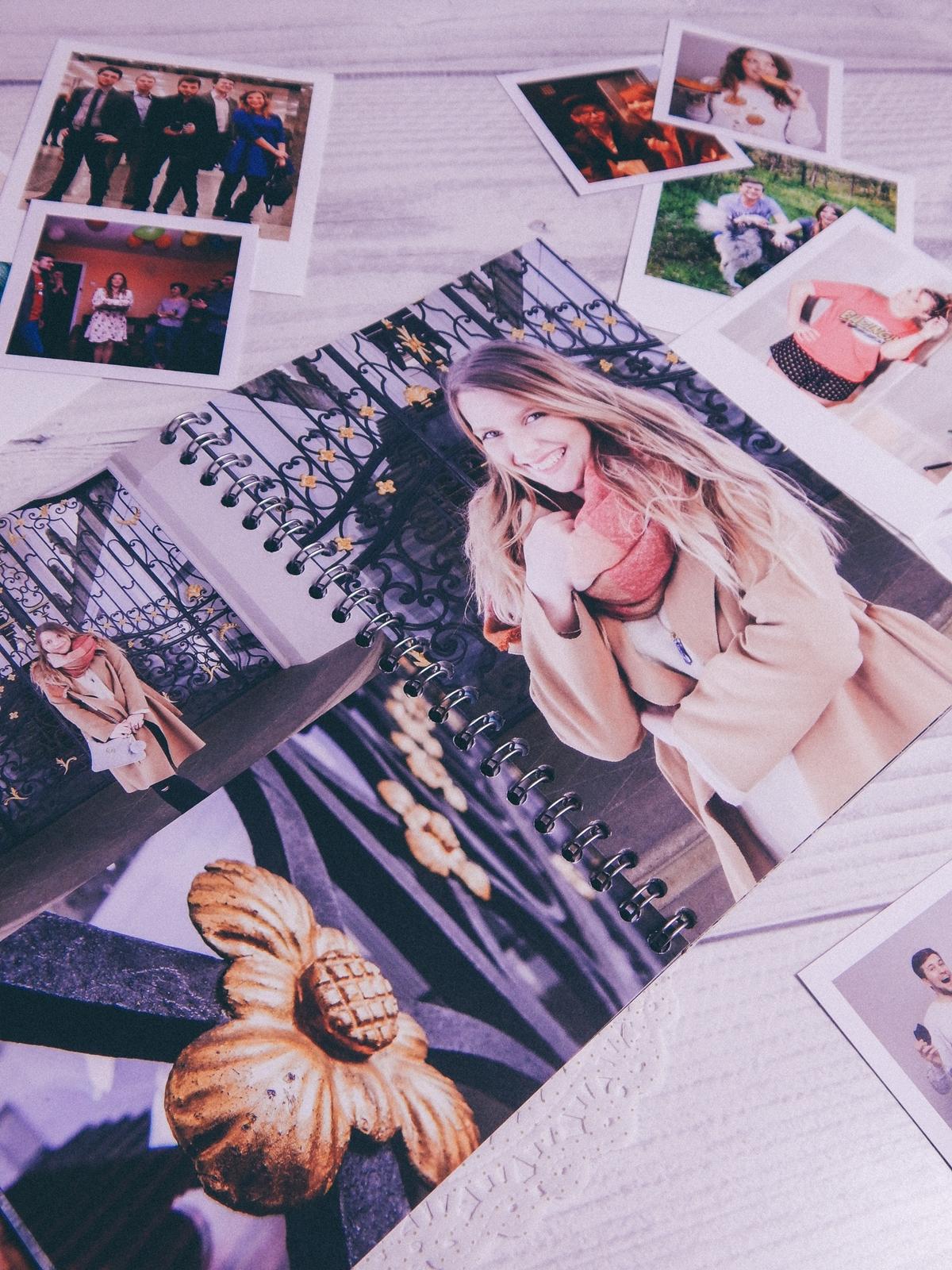 3 fotozeszyt saal digital zeszyt na zdjęcia a5 na sprężynie fotoksiązka photobook recenzja test fotozeszytu tanie wywoływanie zdjęć online melodylaniella polaroidy