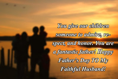 Happy Father's Day Messages for Husband 2017