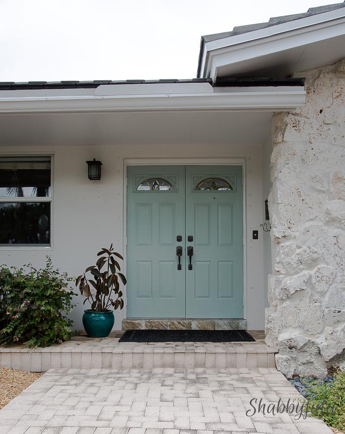 Stunning Green Doors - Shabby Fufu