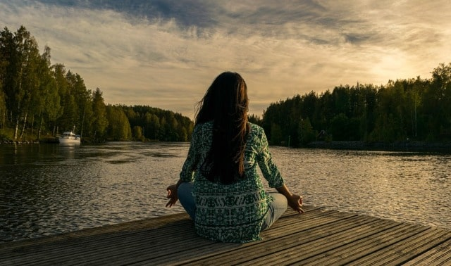 ways to unwind and relax naturally yoga meditation outdoors nature