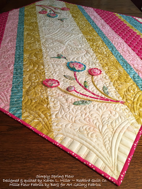 Karen' Quilts Crows And Cardinals Simply Spring Millie