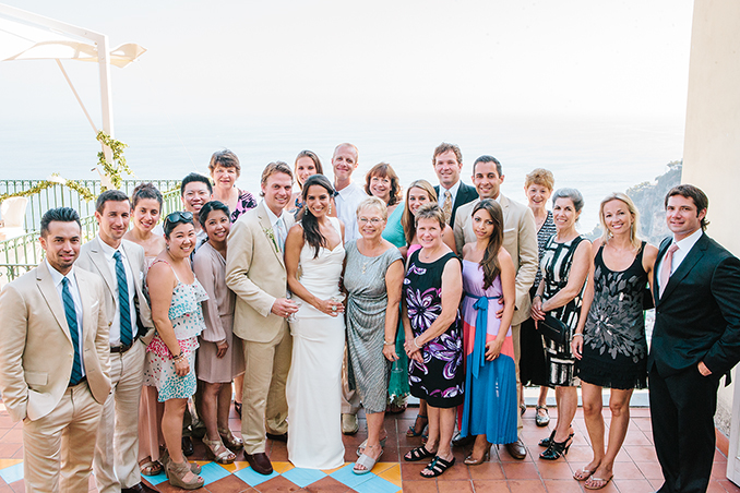 Megan and Jeremy's gorgeous Positano, Italy wedding photos by STUDIO 1208
