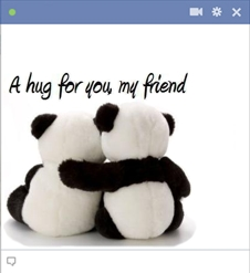 A Hug Emoticon For Facebook