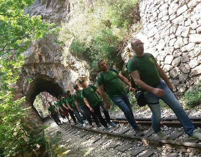 Ο Σύλλογος Εφέδρων Πελοποννήσου στο ''38ο Πανελλήνιο Πέρασμα στο Φαράγγι του Βουρα'ι'κού Ποταμού''