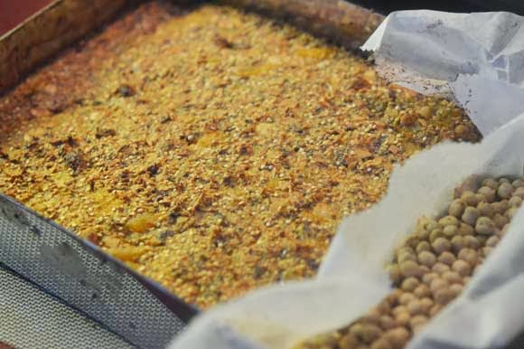 Glutenvrije, vetvrije en suikervrije reep